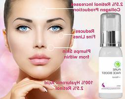 100% Hyaluronic Acid Infused with 2.5% Retinol Acne Blemish