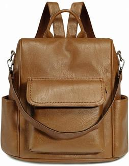 Backpack Purse Anti Theft for Women,VASCHY PU Leather Conver